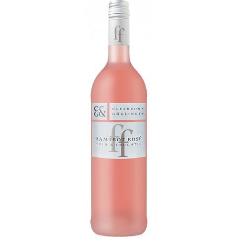 Cleebronn Güglingen Fein & Fruchtig Samtrot Rosé 2018 0,75 ltr