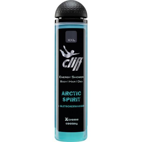 Cliff Energy Duschgel Body & Hair Arctic Spirit + Gletscherwasser 300 ml