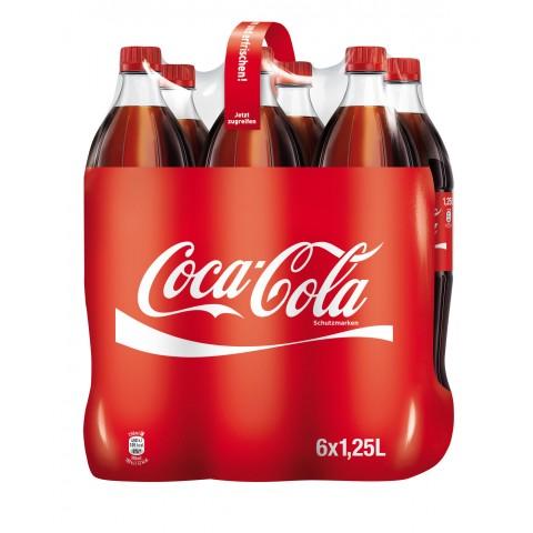Coca-Cola Coke PET 6x 1,25 ltr