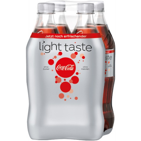 Coca-Cola Light 4x 0,5 ltr PET