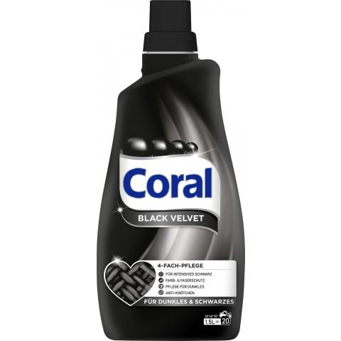 Coral Black Velvet Flüssigwaschmittel 1,5L