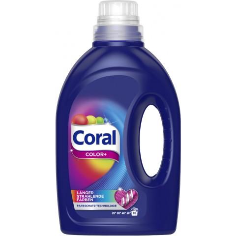 Coral Color+ Vollwaschmittel flüssig 1,12 L