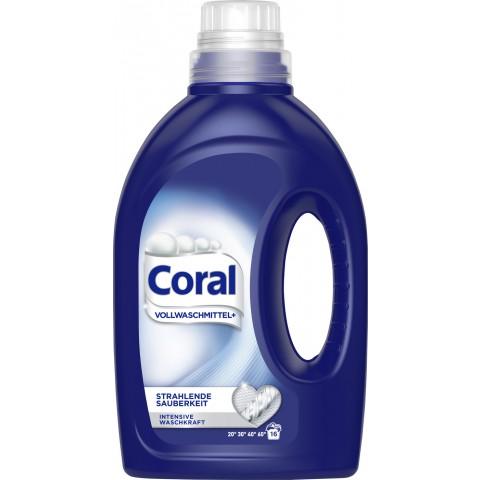 Coral Vollwaschmittel+ flüssig 1,12 L