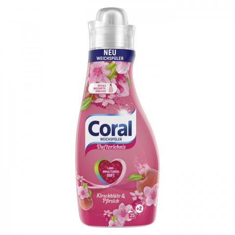 Coral Weichspüler Kirschblüte & Pfirsich 675ML 27WL