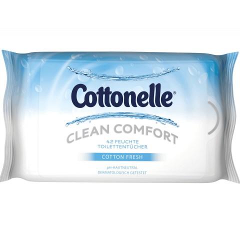 Cottonelle Feuchte Toilettentücher Cotton Fresh NF