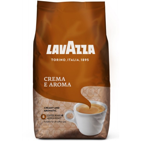 Lavazza Crema e Aroma ganze Bohnen