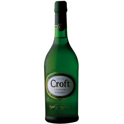Croft Original Fine Pale Cream Sherry 0,75 ltr