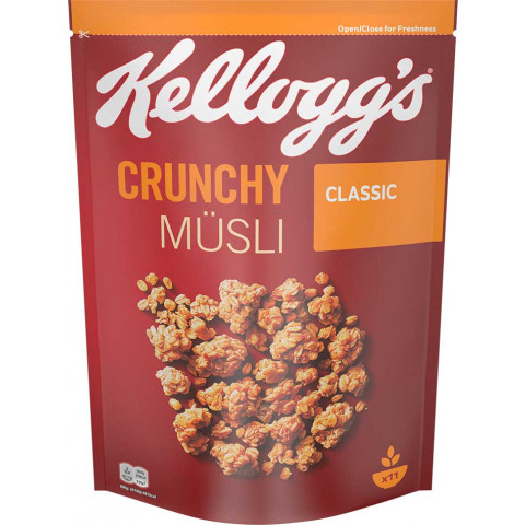 Kelloggs Crunchy Müsli Classic 500 g