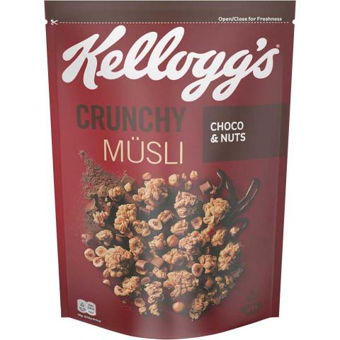 Kelloggs Knusper Müsli Choco & Nuts 500G
