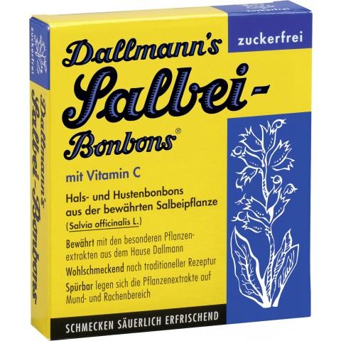 Dallmann's Salbei-Bonbons ohne Zucker 37 g