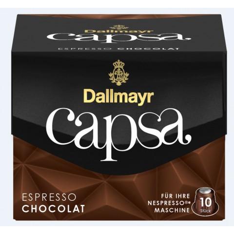 Dallmayr Capsa Espresso Chocolat Nespresso kompatible Kapseln 10x 5,6 g