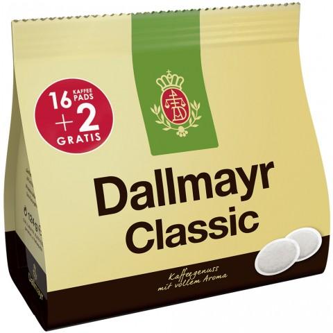 Dallmayr Kaffeepads Classic 16+2ST 124G