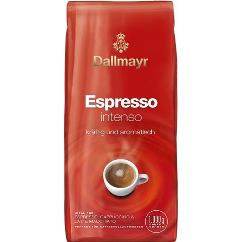 Dallmayr Espresso Intenso kräftig und aromisch ganze Bohnen