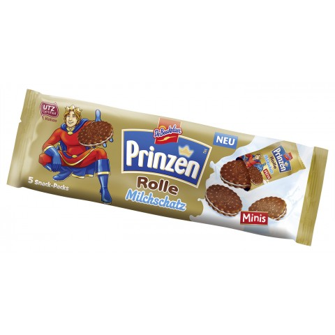De Beukelaer Prinzenrolle Milchschatz Minis