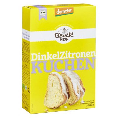 Bauckhof Demeter Bio Dinkel Zitronenkuchen Backmischung 485 g