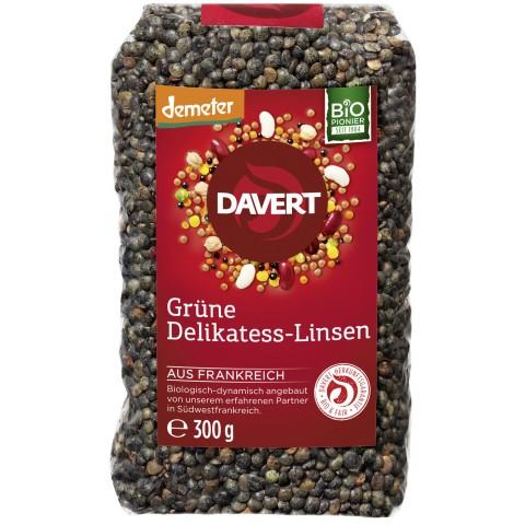 Davert Demeter Grüne Delikatess-Linsen 300 g