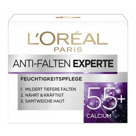 Loreal Anti-Falten Experte Feuchtigkeitspflege 55+ Calcium