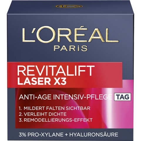 L'Oréal Revitalift Laser x3 Anti-Age Intensiv-Pflege Tag 50 ml