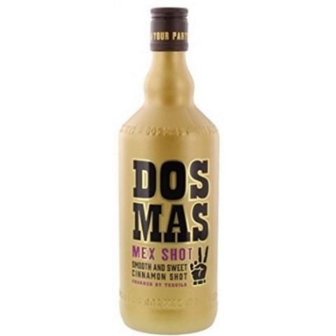 DOS MAS Zimtlikör mit Tequila verfeinert 0,7 ltr