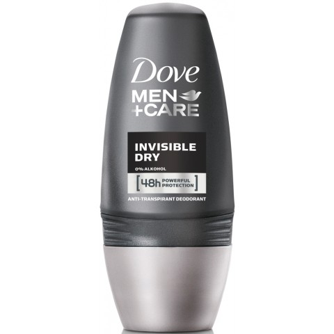 Dove Men + Care Deodorant Roll-On Invisible Dry 50 ml