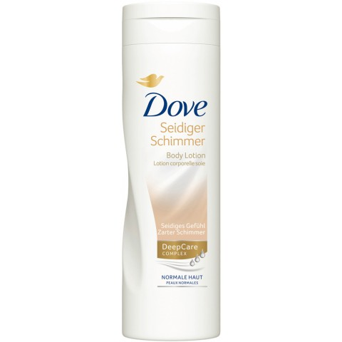 Dove Body Lotion Seidiger Schimmer