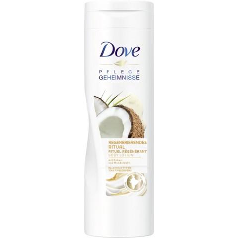 Dove Body Lotion Regenerierendes Ritual mit Kokos- und Mandelduft 400 ml