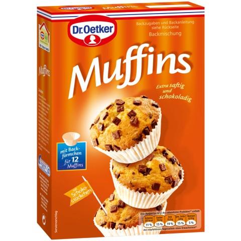 EDEKA24 | Dr.Oetker Backmischung Muffins 370 g | online kaufen