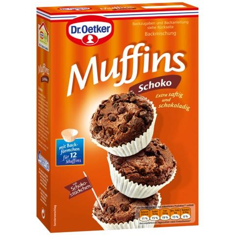 Dr.Oetker Backmischung Muffins Schoko