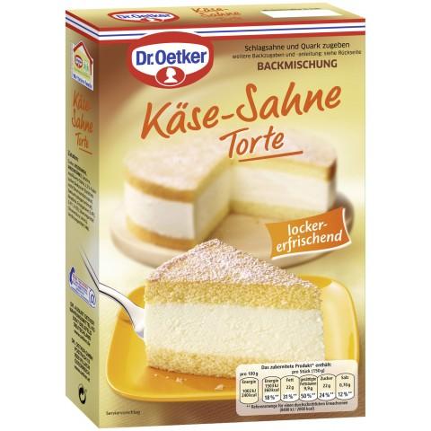 Edeka24 Dr Oetker Backmischung Fur Kase Sahne Torte Kaufen