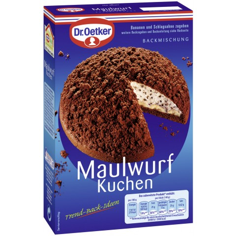 Edeka24 Dr Oetker Backmischung Maulwurfkuchen Kaufen