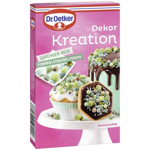 Dr.Oetker Dekor Kreation Grüner Mix 60G