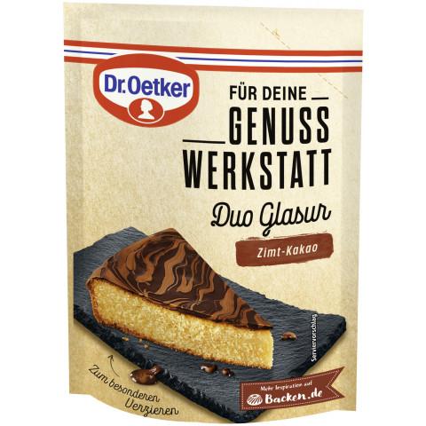 Dr.Oetker Genuss Werkstatt Duo Glasur Zimt-Kakao 125 g