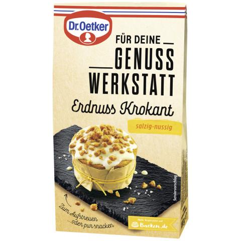Dr.Oetker Genuss Werkstatt Erdnuss Krokant 100 g