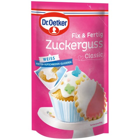 Dr.Oetker Fix & Fertig Zuckerguss Classic 125 g