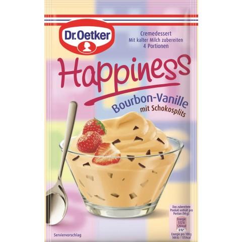 Dr.Oetker Happiness Bourbon-Vanille mit Schokosplits