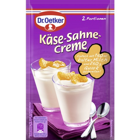 Dr.Oetker Käse-Sahne-Creme 63 g