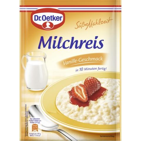 Dr.Oetker Milchreis mit Vanille-Geschmack 125 g