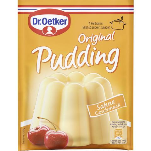 Dr.Oetker Original Pudding Sahne 4x 37G
