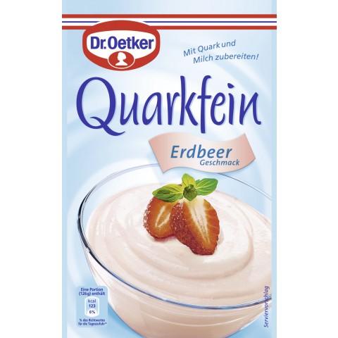 Dr.Oetker Quarkfein Erdbeer Geschmack