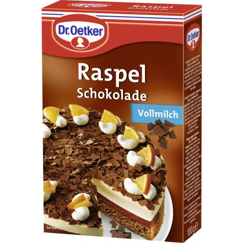 Dr.Oetker Raspel Schokolade Vollmilch