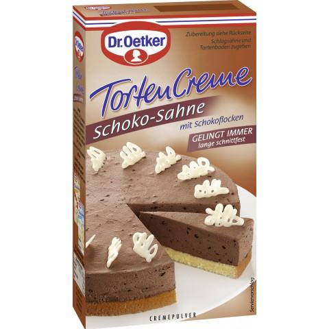 Edeka24 Dr Oetker Tortencremepulver Schoko Sahne 170 G Kaufen