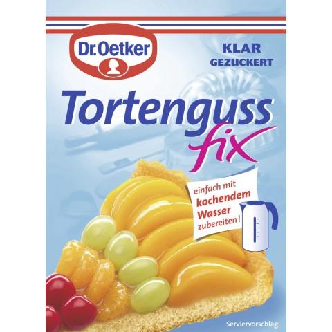 Dr.Oetker Tortenguss fix klar gezuckert 50 g