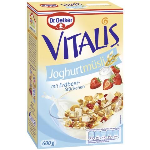Dr.Oetker Vitalis Joghurt Müsli 600 g