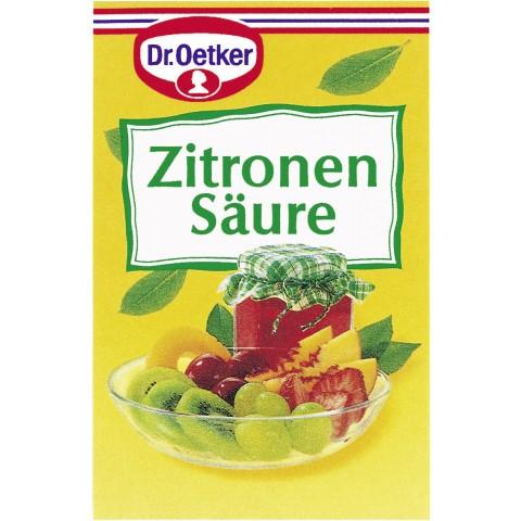 Dr.Oetker Zitronensäure 5x 5 g