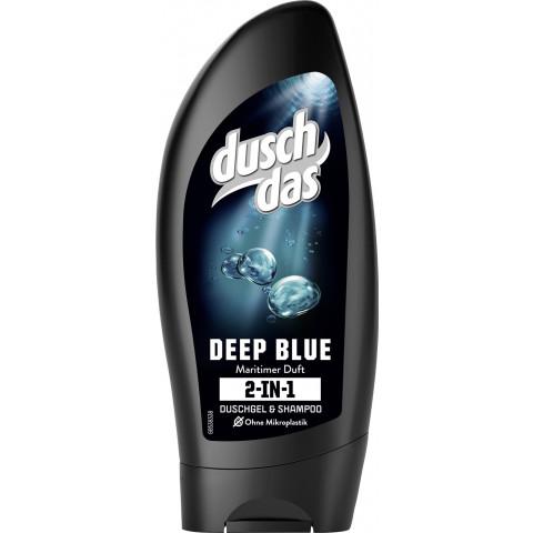 Duschdas 2 in 1 Duschgel & Shampoo Deep Blue 250 ml