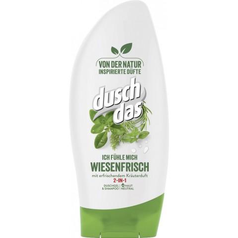 Duschdas 2 in 1 Duschgel & Shampoo Ich fühle mich wiesenfrisch 250 ml