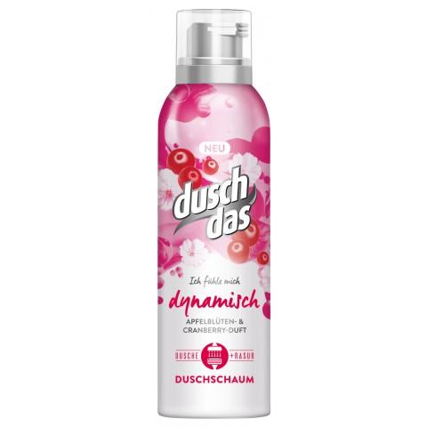 Duschdas Duschschaum+Rasur Ich fühle mich dynamisch Apfelblüten- & Cranberryduft 200 ml