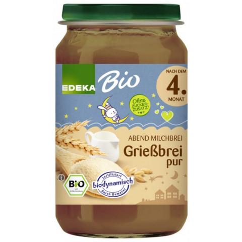 EDEKA Bio Grießbrei pur nach dem 4.Monat 190G