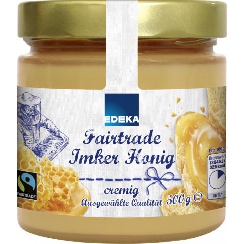 EDEKA Fairtrade Imker Honig cremig