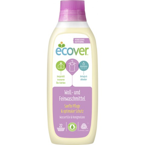 ECOVER Woll- und Feinwaschmittel flüssig 1 L